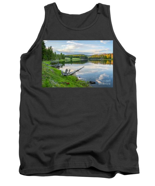 Yellowstone River Off Grand Loop Tank Top