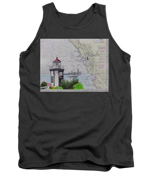Yerba Buena Island Lighthouse Tank Top