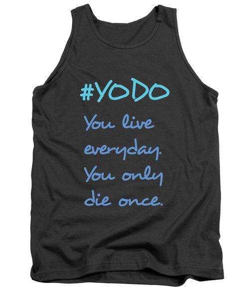 #yodo Customizable Choose Colour Tank Top by Clare Bambers