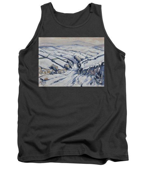 Yorkshire In The Snow Tank Top