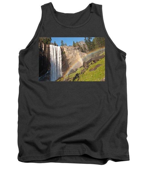 Yosemite Mist Trail Rainbow Tank Top