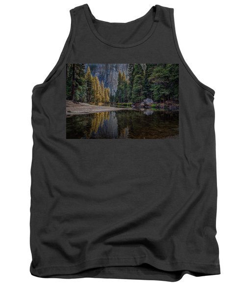Yosemite Valley Reflections Tank Top