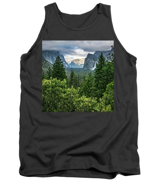 Last Light For Tunnel View Tank Top by Ryan Weddle