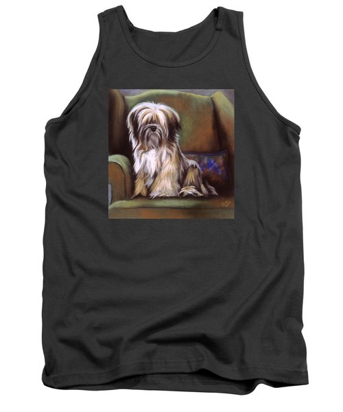 You Are In My Spot Again Tank Top by Barbara Keith