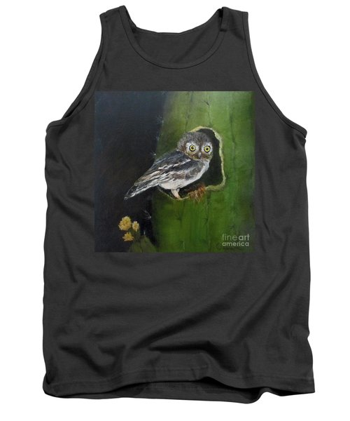 You Caught Me Tank Top by Roseann Gilmore