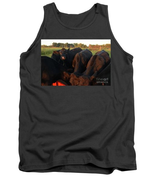Tank Top featuring the photograph You Lookin At Me? by Mark McReynolds