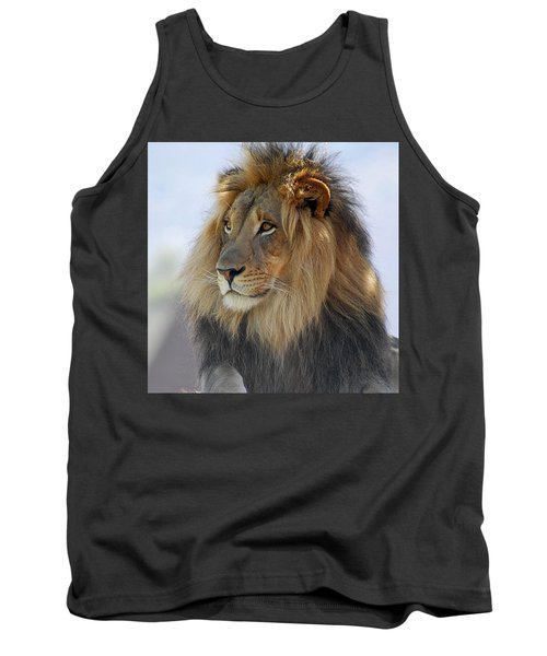 Young Male Lion Tank Top