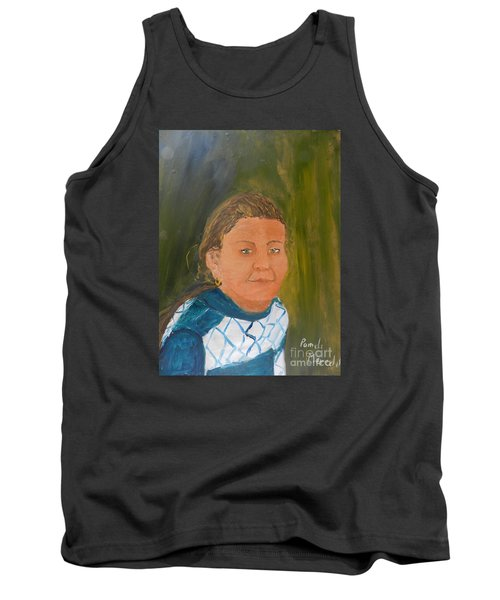 Young Model Tank Top