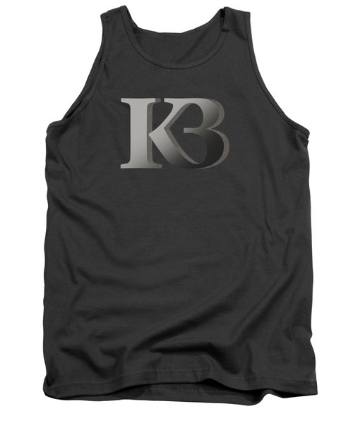 Your Name - K B Monogram 2 Tank Top