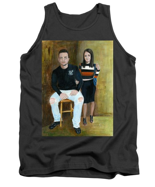 Youth And Beauty - Painting Tank Top