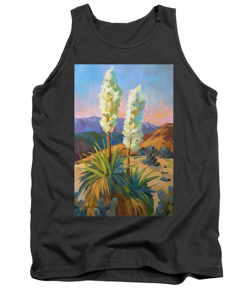 Yuccas Tank Top by Diane McClary