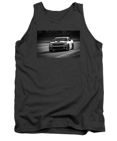 Z28 On Track Tank Top by Mike Martin