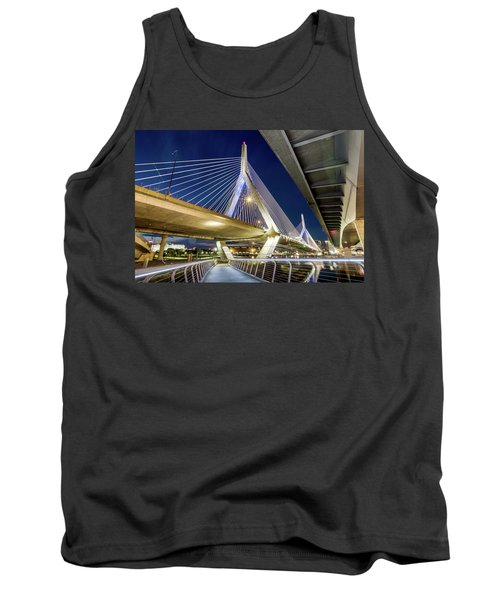 Zakim Bridge From Bridge Under Another Bridge Tank Top