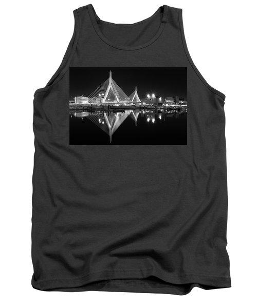Zakim Bridge From Lovejoy Wharf Tank Top