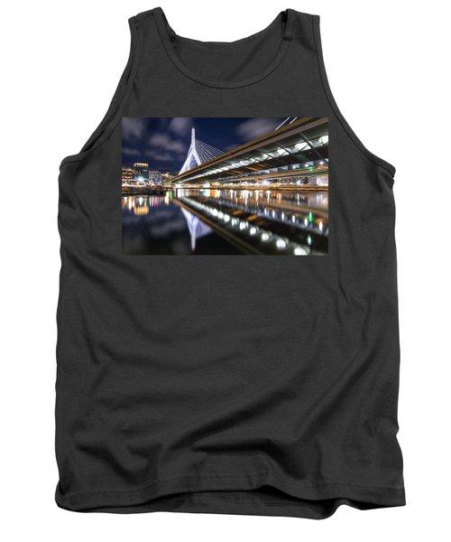 Zakim Bridge From Paul Revere Park Tank Top