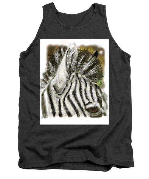 Zebra Digital Tank Top