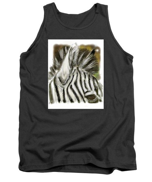 Zebra Digital Tank Top