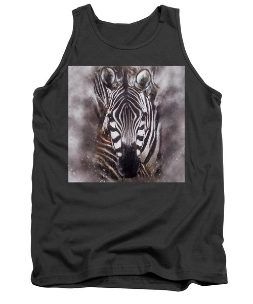 Zebra Splash Tank Top