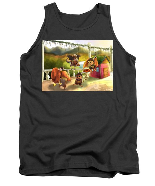 Zeke Cedric Alfred And Polly Tank Top