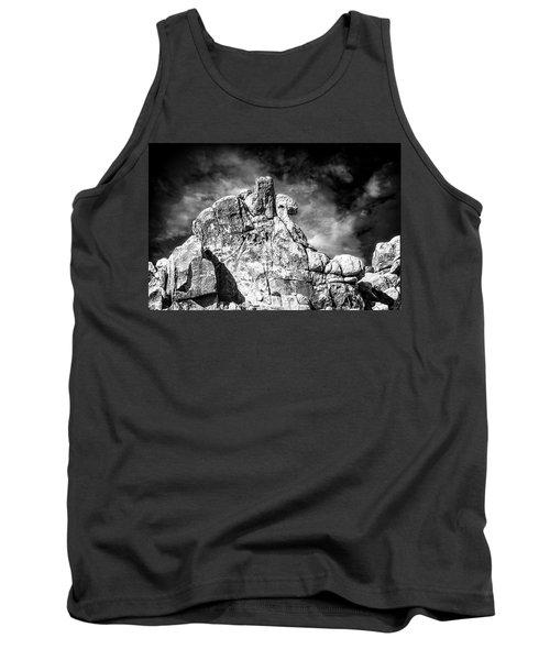 Zen Rocks II Bw Tank Top