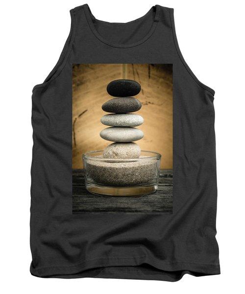 Zen Stones I Tank Top by Marco Oliveira