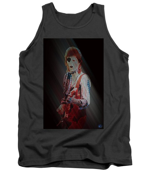 Ziggy Played Guitar Tank Top