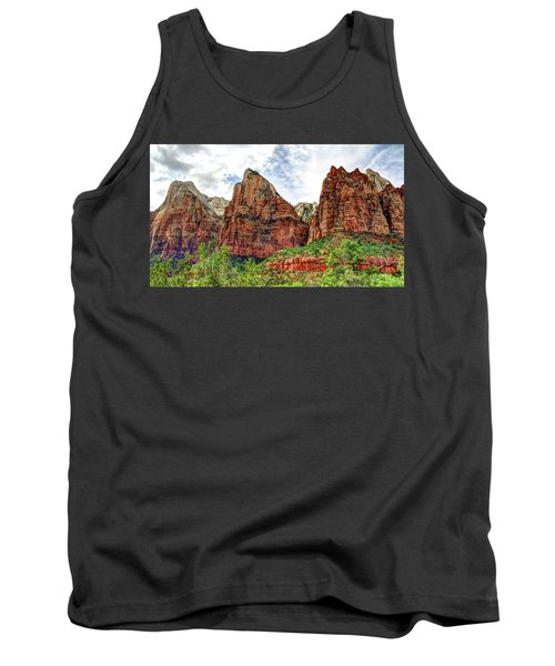 Zion N P # 41 - Court Of The Patriarchs Tank Top