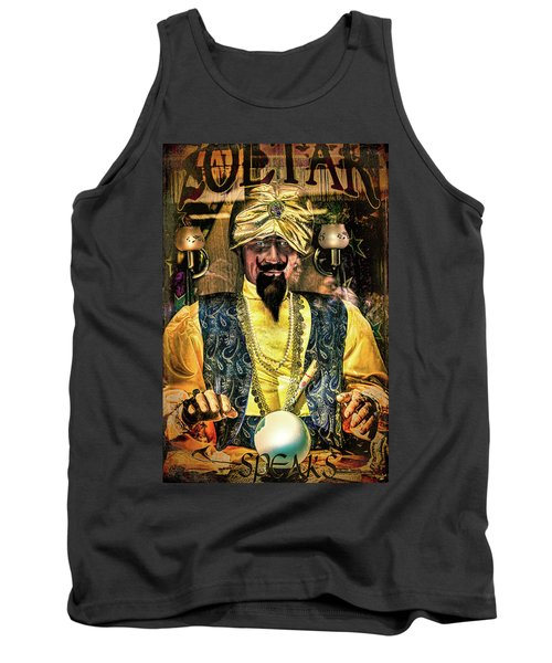 Tank Top featuring the photograph Zoltar by Chris Lord