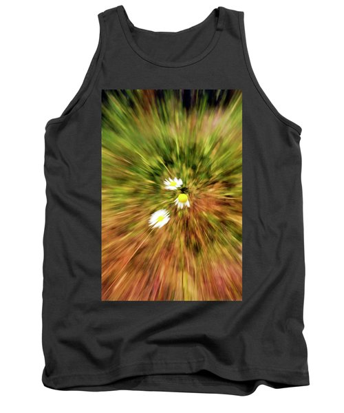 Zooming In Or Zooming Out Tank Top by James Steele
