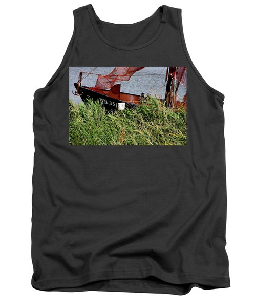 Tank Top featuring the photograph Zuiderzee Boat by KG Thienemann