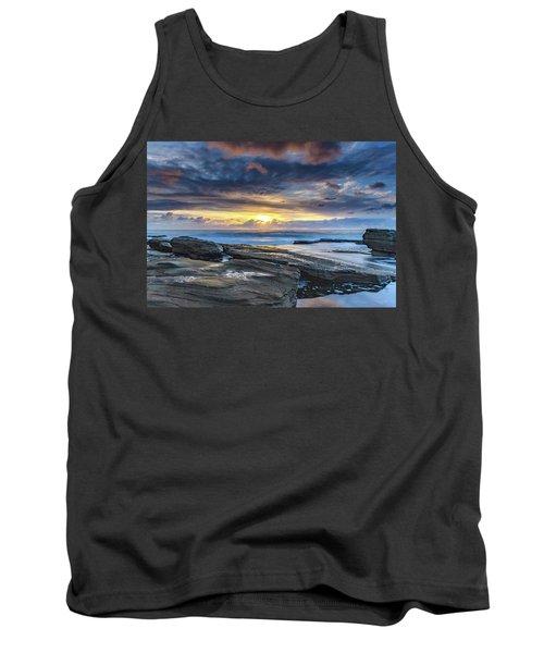 An Atmospheric Coastal Sunrise Tank Top