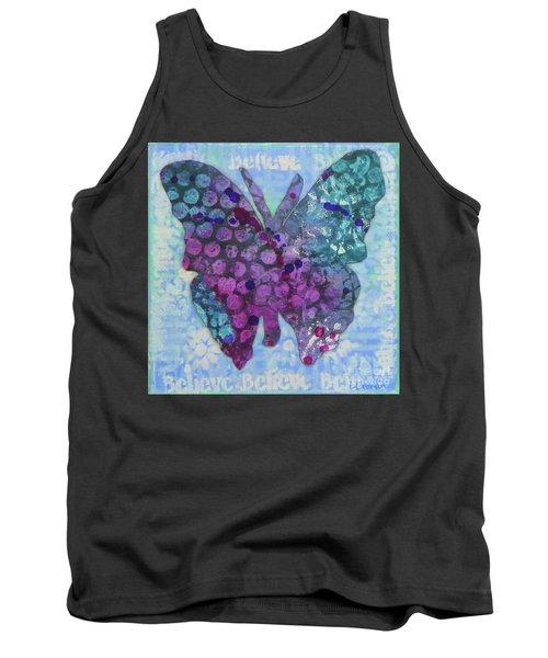 Believe Butterfly Tank Top