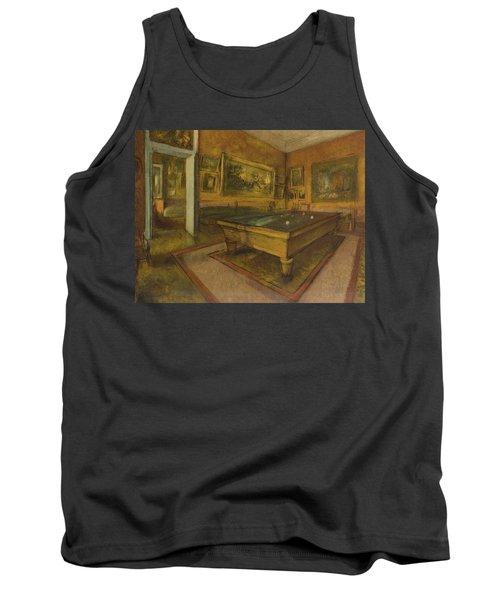 Billiard Room At Menil-hubert, 1892 Tank Top