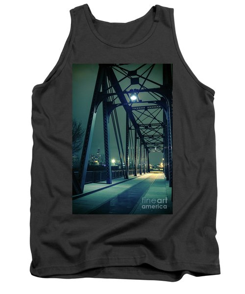 Chicago Railroad Bridge Tank Top