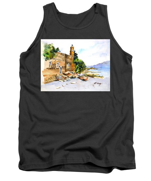 Church Of Primacy, Galilee Tank Top