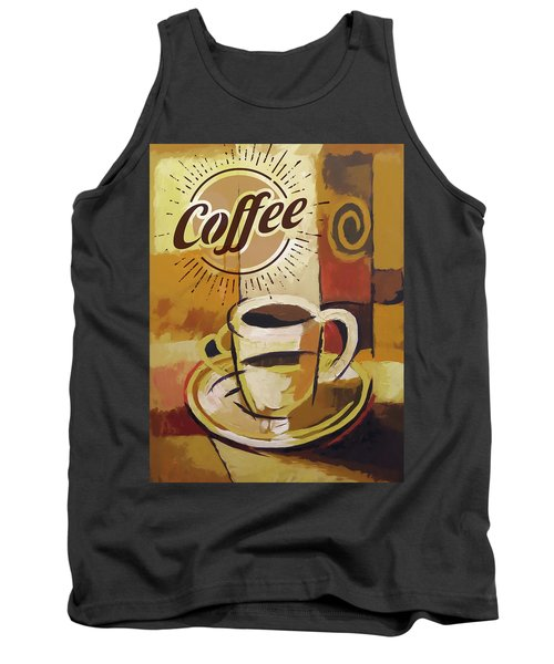 Coffee Poster Tank Top