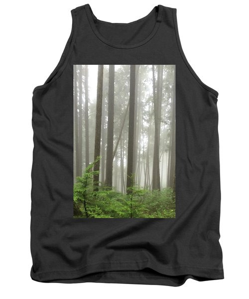 Foggy Forest Tank Top