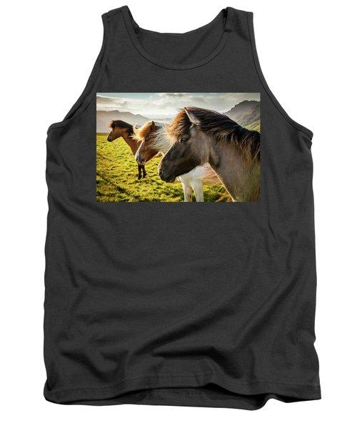 Icelandic Horses Tank Top