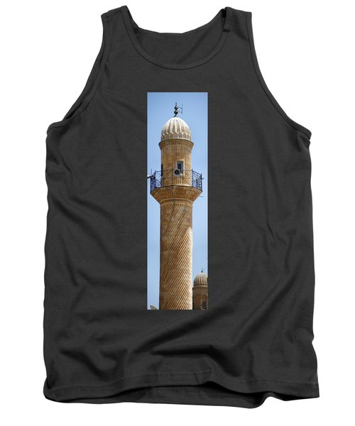 Minaret Of Ulu Cami Mosque Tank Top