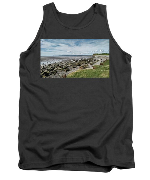 Morecambe. Hest Bank. The Shoreline. Tank Top