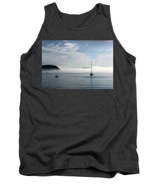 Morning Mist On Frenchman's Bay Tank Top
