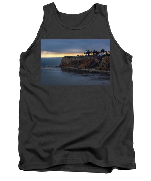 Point Vicente Lighthouse At Sunset Tank Top