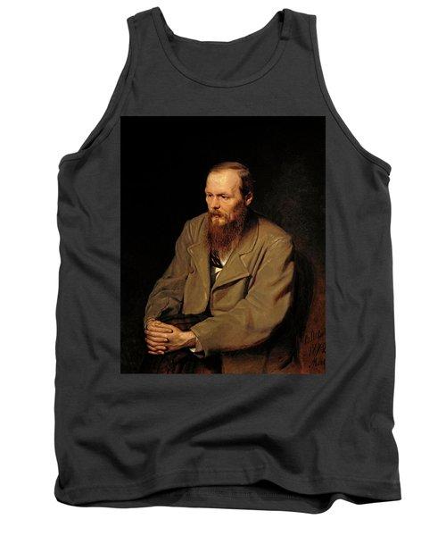 Portrait Of Fedor Dostoyevsky Tank Top