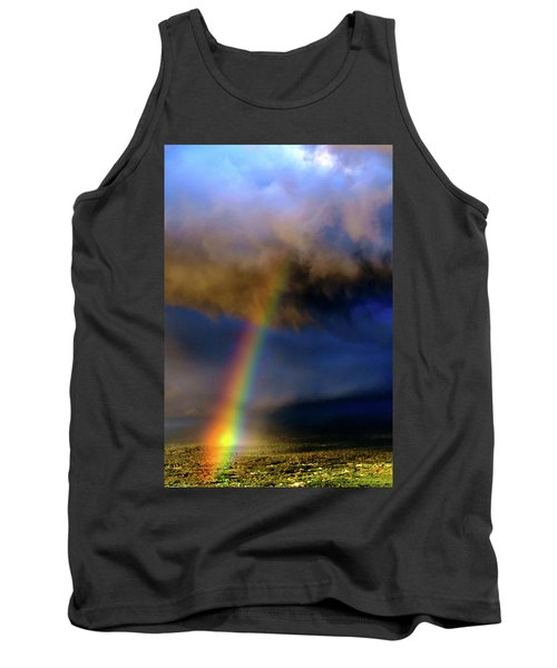 Rainbow During Sunset Tank Top