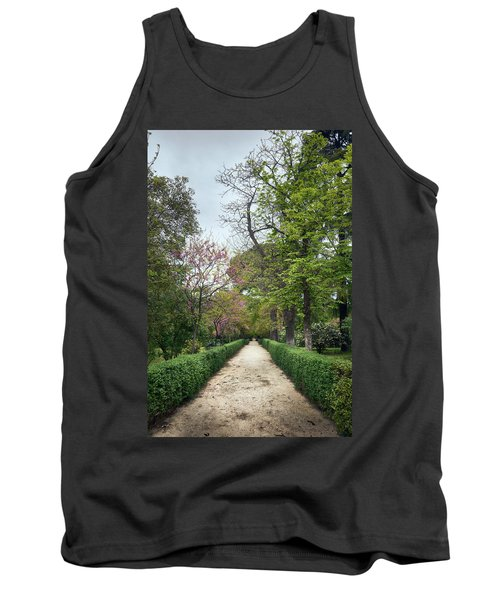 The Paths Of The Retiro Park Tank Top
