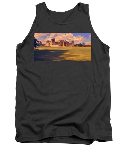 The White Party Tent Along Blenheim Palace Tank Top