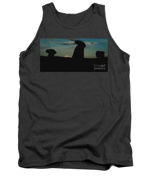 Turkish Landscapes With Snowy Mountains In The Background Tank Top