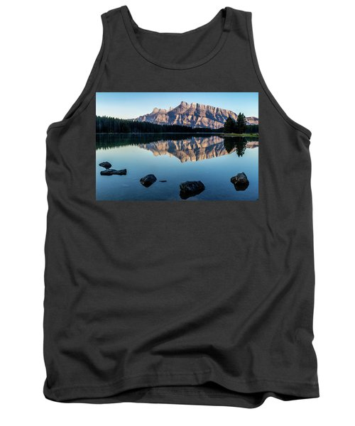 Two Jack Lake, Banff National Park, Alberta, Canada Tank Top