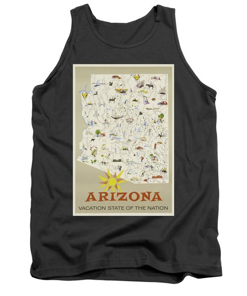 Vintage Travel Poster - Arizona Tank Top