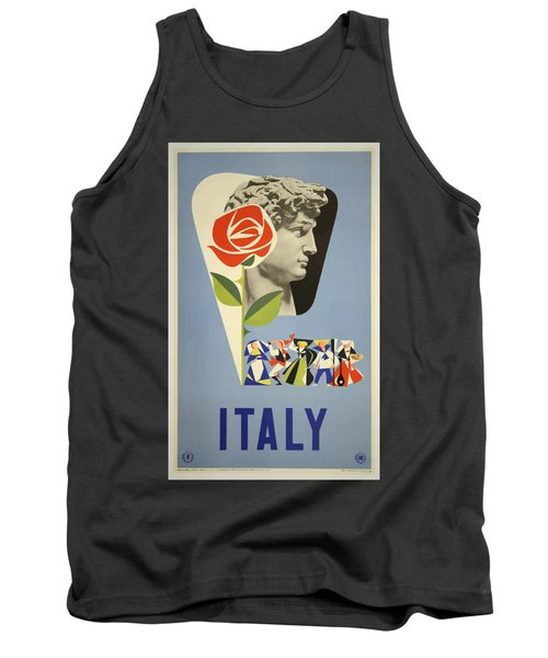 Vintage Travel Poster - Italy Tank Top